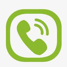 Resultado de imagem para icone telefone verde.