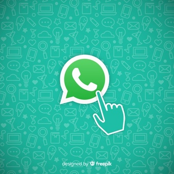 Whatsapp icon Vector.