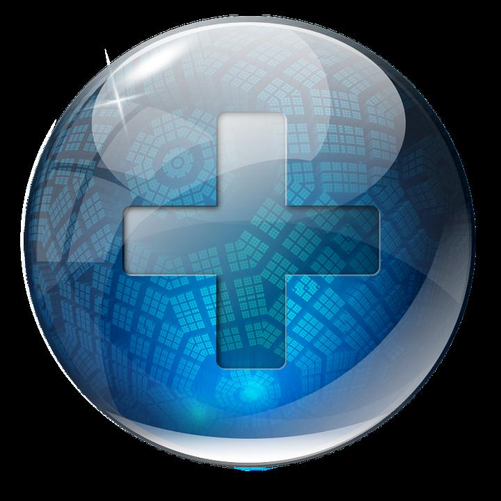 Icon 3D Blue.