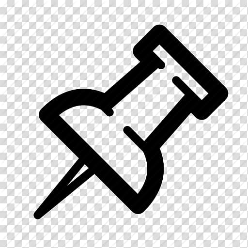 Drawing pin Computer Icons Iconfinder, Icon Push Pin.