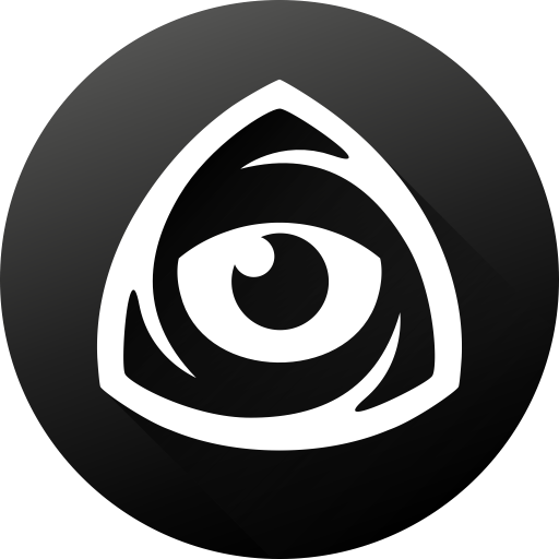 Black white, eye, icon market, iconfinder, iconfinder icon.