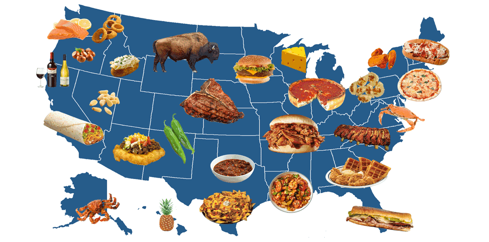 The Ultimate Guide to Iconic American Food.