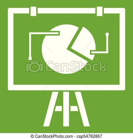 Estadística, verde, capirotazo, icono, gráfico Clipart.