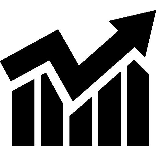 Estadísticas de las empresas gráfico.