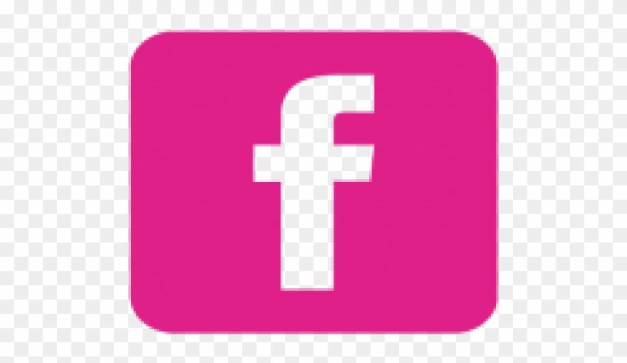 Facebook Clipart Pink.