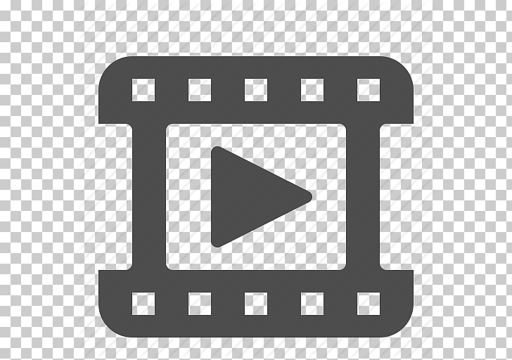 Logo de video negro, icono de video, icono de video PNG.