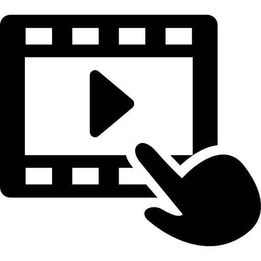 Icono de video download free clipart with a transparent.