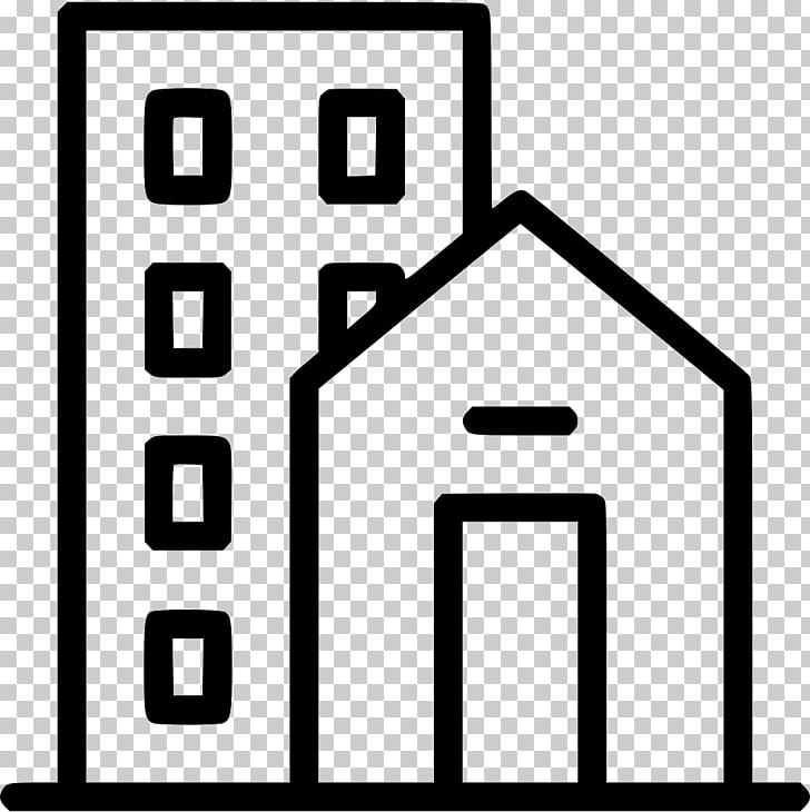 Casa propiedad inmobiliaria edificio iconos de computadora.
