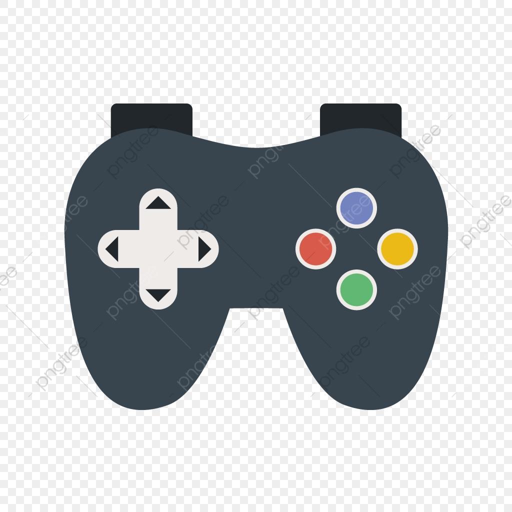 Vector Icono De Video Juego, Controlador, Controlador Icon, Diseño.