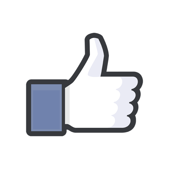 Facebook Like Icon, Facebook, Facebook Button, Facebook Icon.