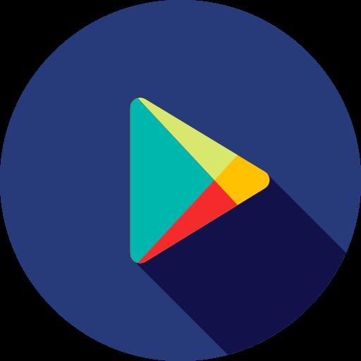 Logo, google, social media, logotype, Brand, Logos, Playstore icon.