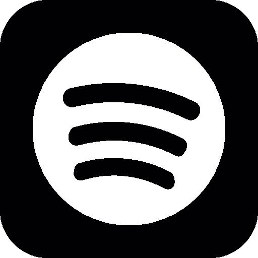 Spotify logo Icons.