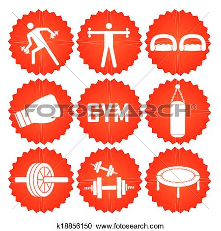 Clipart of iconography k18856150.