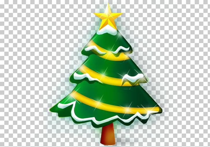 Santa Claus dulces bastón Navidad iconos de computadora.