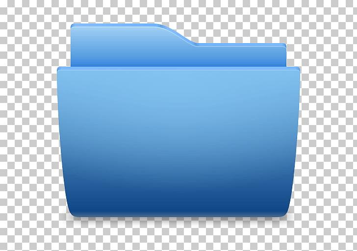 Directorio macintosh ico icono azul, carpeta PNG Clipart.