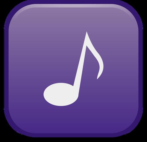 Icono de reproductor de música.