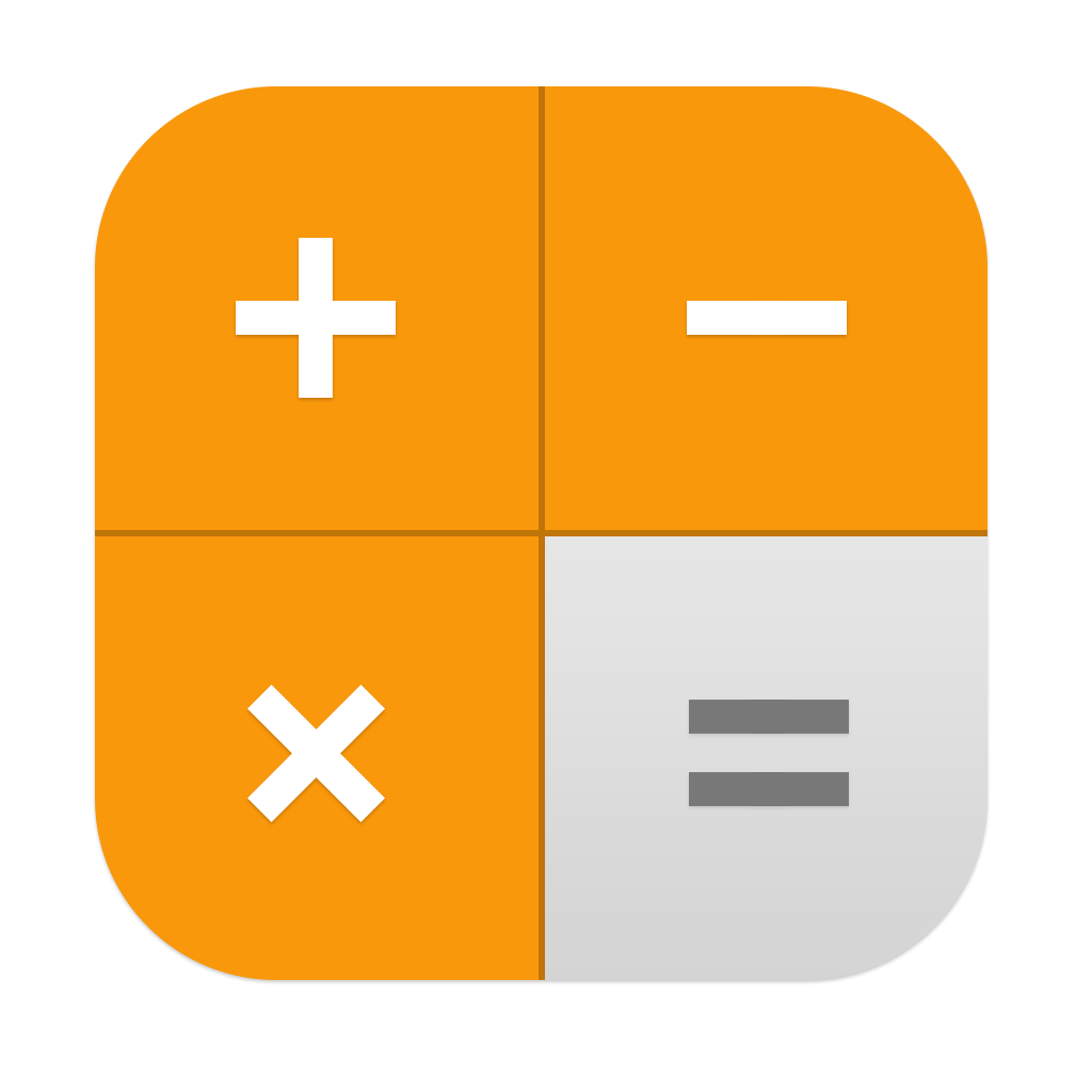 Calculadora IOS 11 Icono Apple5x1 Logo Image.