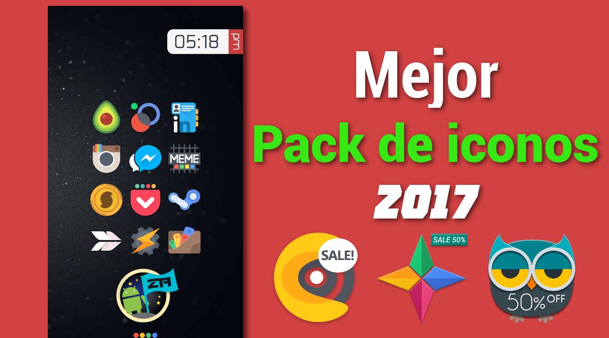 Top20 Pack de Iconos para ANDROID + Fondos de Pantalla HD.