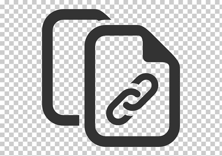 Iconos de computadora hipervínculo cortar, copiar y pegar.
