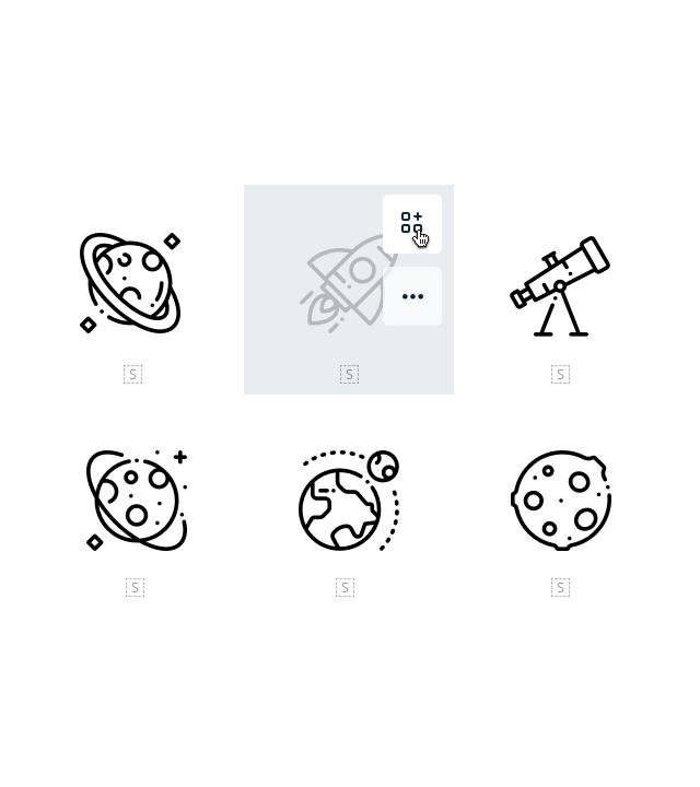 Iconos vectoriales gratis.
