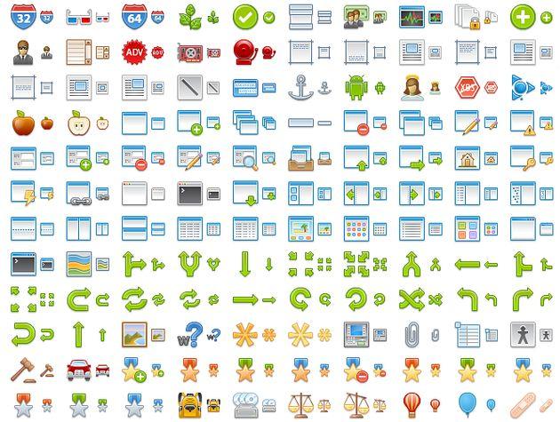 2400 iconos gratuitos de gran calidad en formato PNG.
