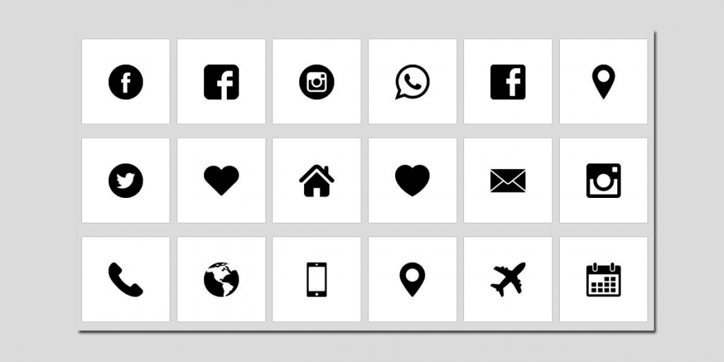 Iconos e imágenes gratis para presentaciones.