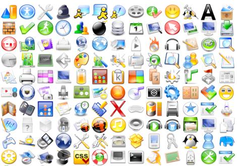 Iconos 3D libres.
