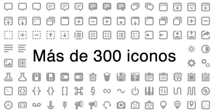 Batch, más de 300 iconos gratis de alta calidad para tus proyectos.