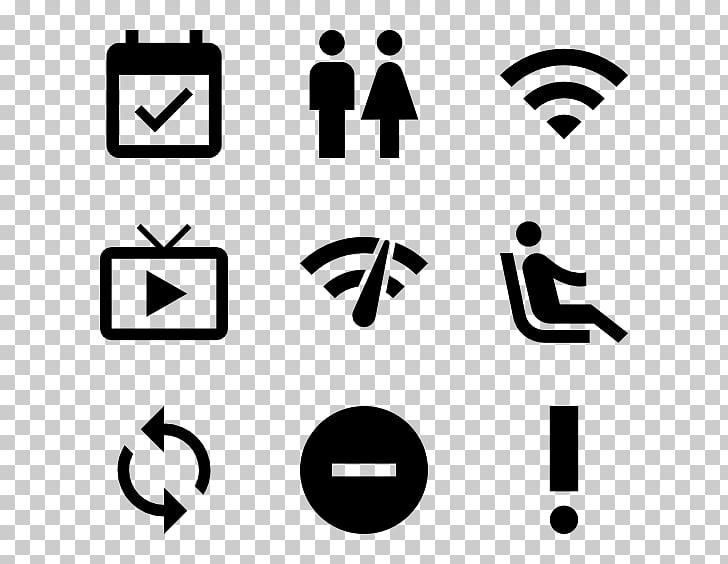 Iconos de computadora material de diseño, rótulos redondos.