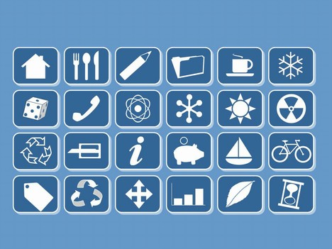 Small Clip Art Icons.