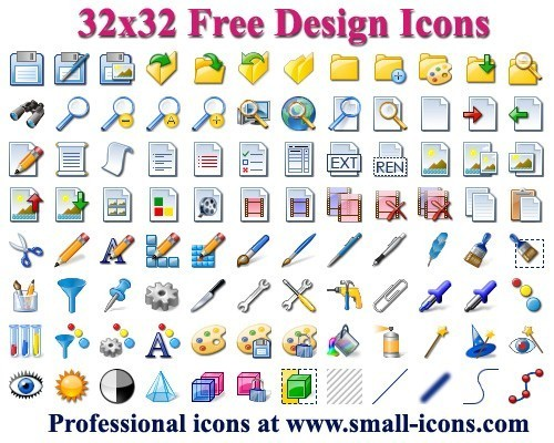 Download .Ico Icons Free Software: Icons, 12x12 Free Toolbar.
