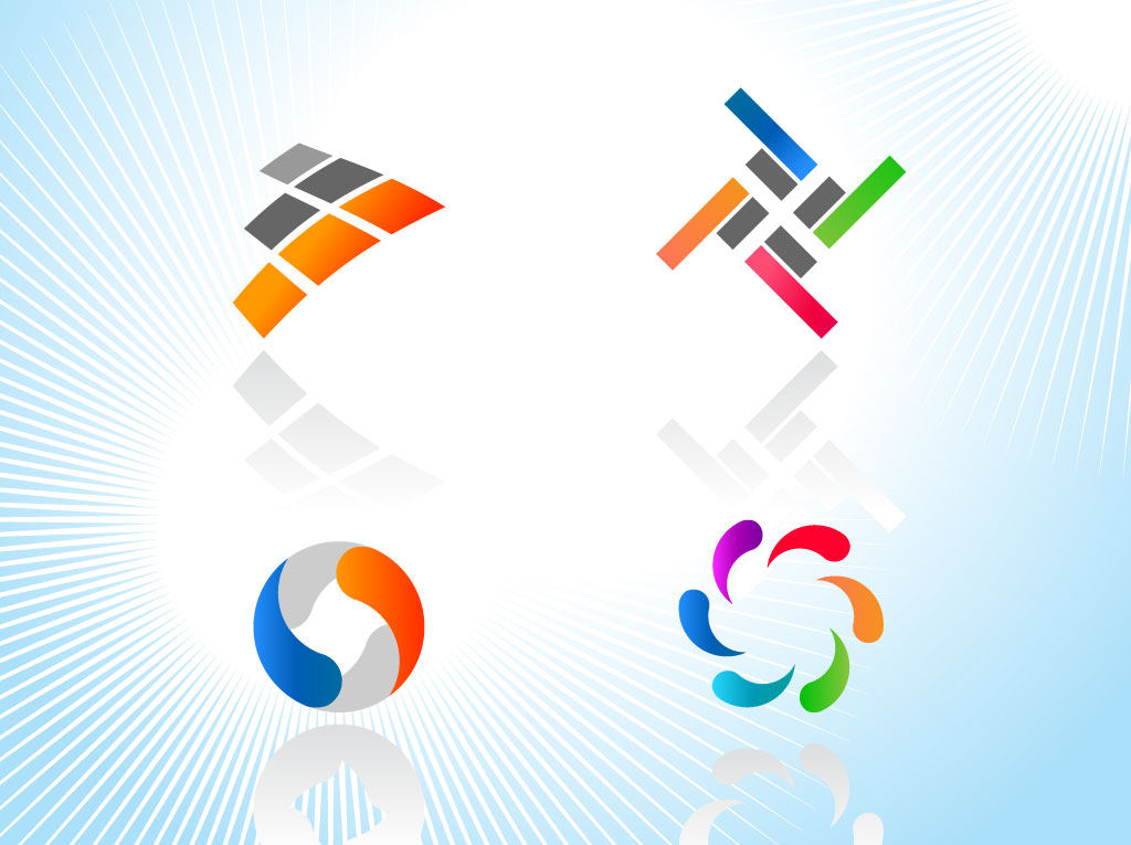 Colorful Logo Icons.