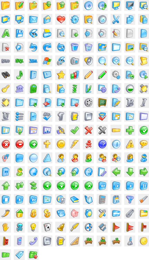 3D Artistic Icons (Pro).