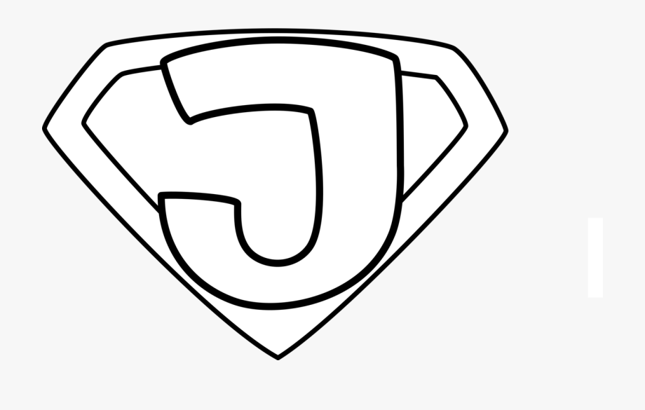 Clipart Of Superhero Icons Black And White , Transparent.