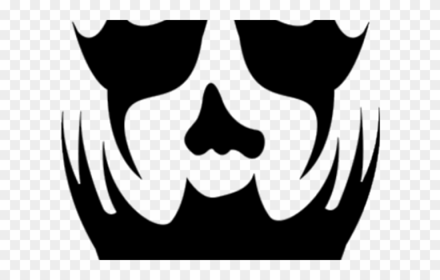 Icp Clown Face Paint Clipart (#453935).