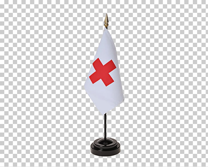 Red Cross Small Flag, Red Cross flag PNG clipart.