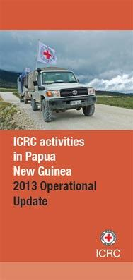 The ICRC in Papua New Guinea.
