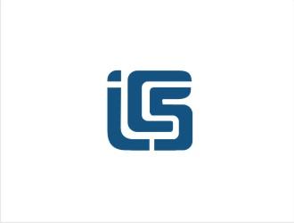 ICS logo design.