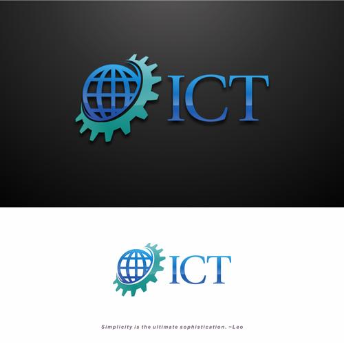 ICT Logo for $7B Company.