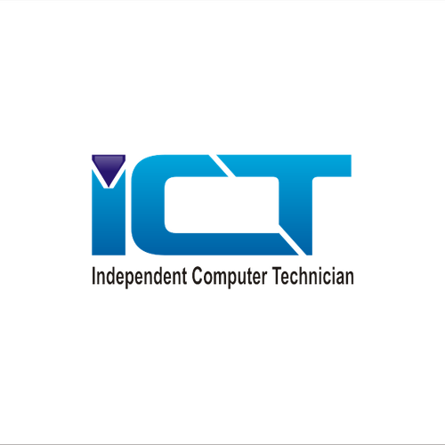 Create the next logo for I.C.T. / Independent Computer Technician.
