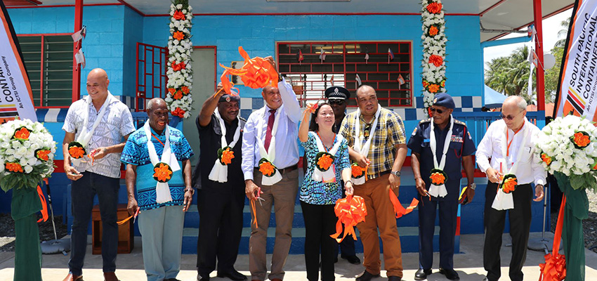ICTSI promotes social role with new PNG police station.