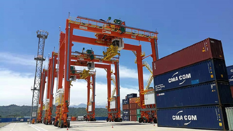 ICTSI subsidiary receives delivery of three RTGs in PNG.