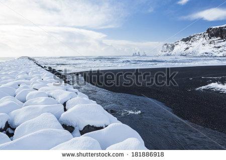 Beach Iceland Stock Photos, Royalty.