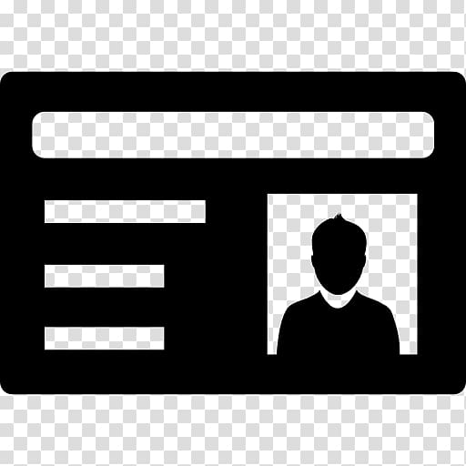 Identity document Computer Icons, id card transparent.
