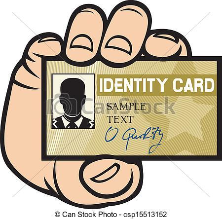 Id card clipart.