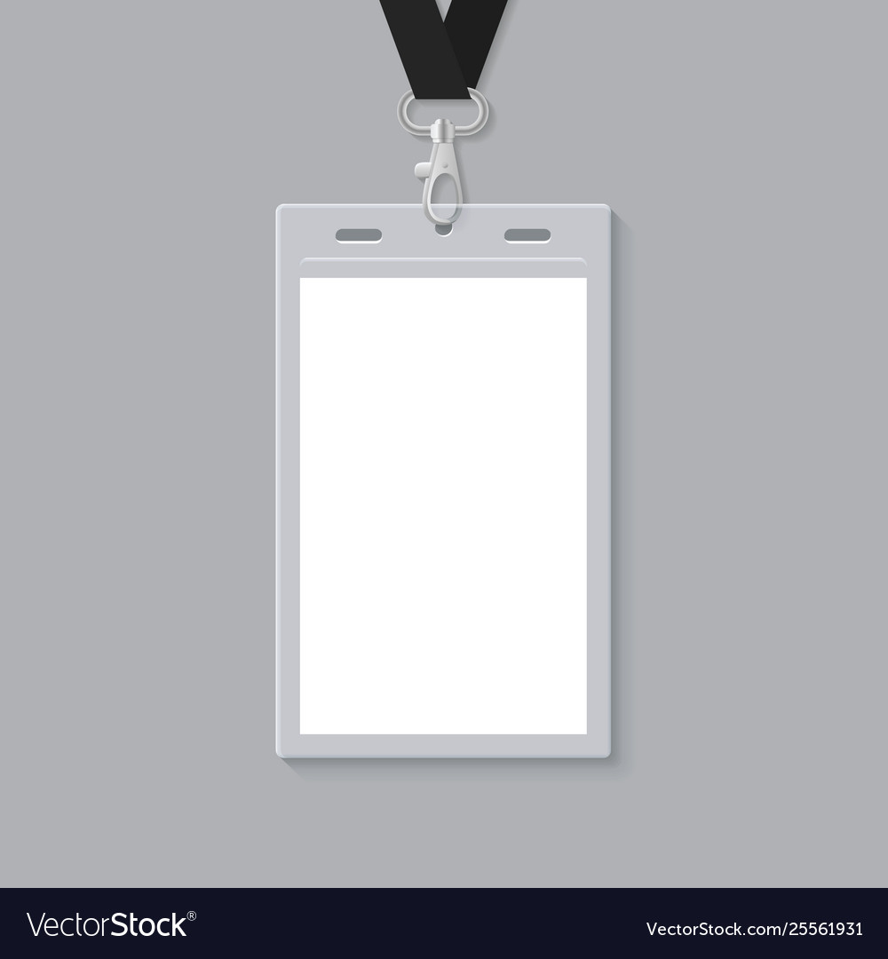 blank id card template.