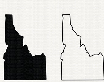 Idaho clip art.