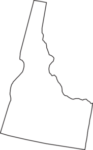 Idaho Outline Clipart Free.