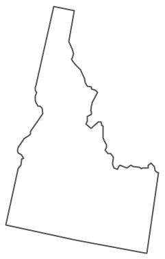 Idaho State Map Vector Clip Art. Vector. Get Free Images About.