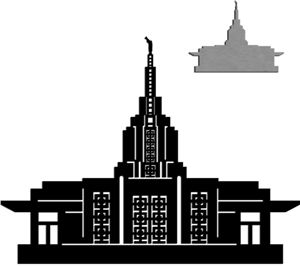 Lds clipart idaho falls temple.